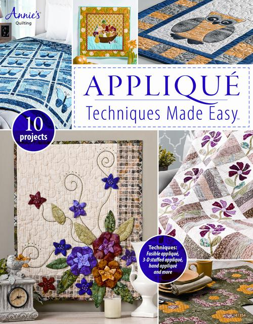 Applique Techniques Made Easy Book