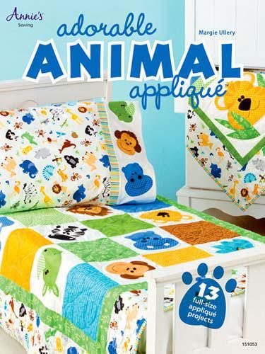 Adorable Animal Applique by Margie Ullery