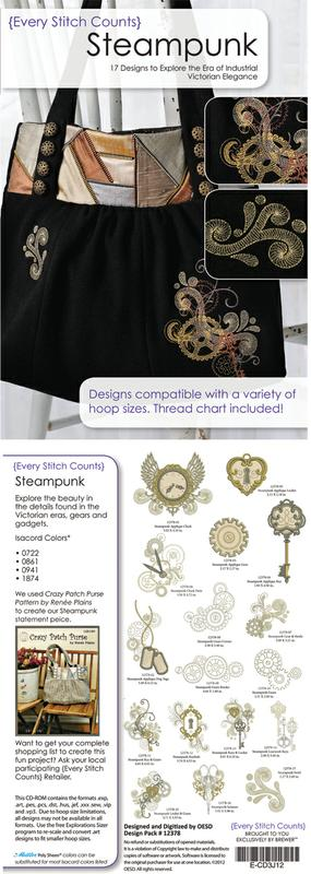 SteamPunk CD Every Stitch Counts