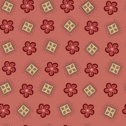 Elementary-Tossed Geo w/Swirl, Pink Elementary-Tossed Geo w/Swirl, Pink