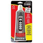 Eclectic E6000 Adhesive 2oz Carded Clear