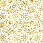 Christmas Joy Snowflake Cream E604695M-33-V15