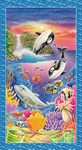 Sea World - Sea Creature Banner Panel
