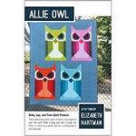Allie Owl Quilt Pattern by Elizabeth Hartman