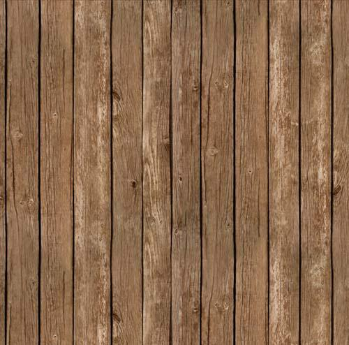 Farm Animals-Barn Siding, Brown Fab:Farm Animals-Barn Siding, Brown