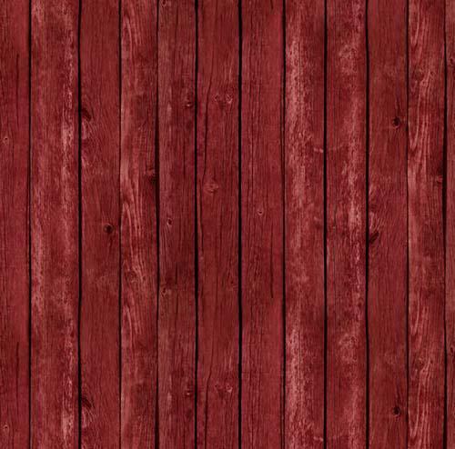 Farm Animals-Barn Siding, Red Fab:Farm Animals-Barn Siding, Red