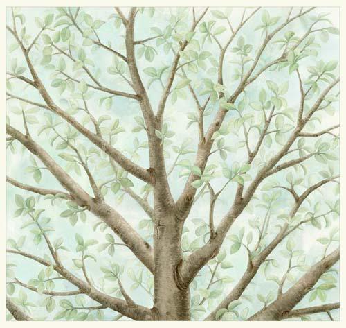 Magic Tree-Panel, Azure