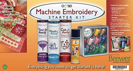 OESD Embroidery Starter Kit
