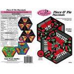 Piece O' Pie Placemats-Eazy Peazy Quilts-EPQ134