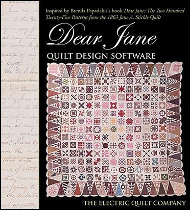 Dear Jane Quilt Design Software CD