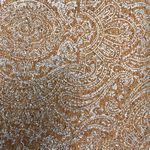 Cork Blend Fabric 51 in x 19 in Paisley