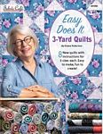 Easy Does It 3-Yard Quilts - Fabric Cafe - 031950