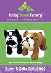 Butch and Bella Bulldog Pattern