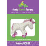 Funky Friends Factory Horsey Horse and Unicorn Pattern