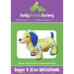 Funky Friends Factory Digger and Dixie Dachshund Pattern