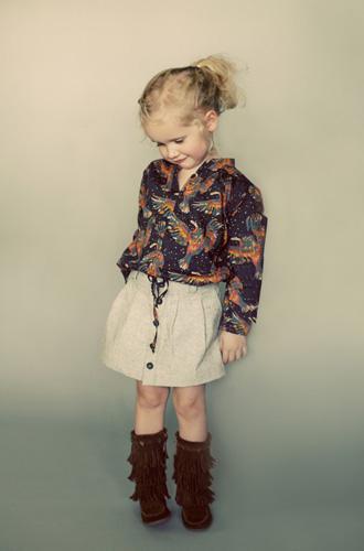 Ayashe Blouse and Skirt