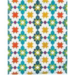 Moroccan Lanterns Quilt Pattern by Freshly Pieced