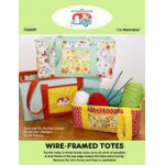 Wire Framed Totes