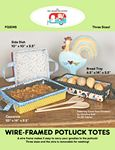 Wire-Framed Potluck Totes By Fat Quarter Gypsy FQG145