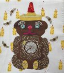 WHATEVERS # 9 Honey Bear  by Laura Heine