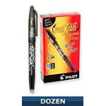Frixion Gel Pen Black 12bx