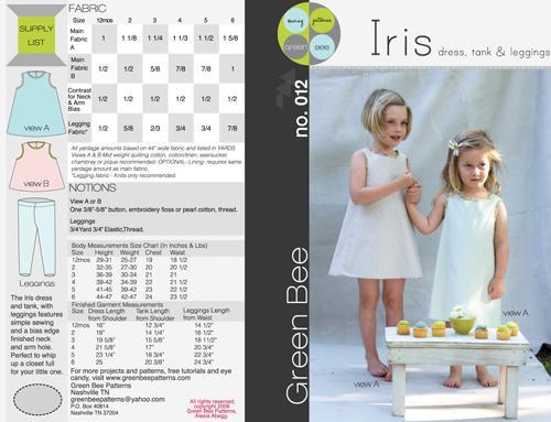 Iris Dress Tank and Leggings