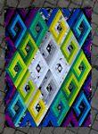 Vortex Quilt Pattern by Geeky Bobbin