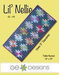 GE Designs Lil' Nellie Table Runner Pattern