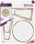 Gemini - Multi Media Die Set - Patchwork Dresden