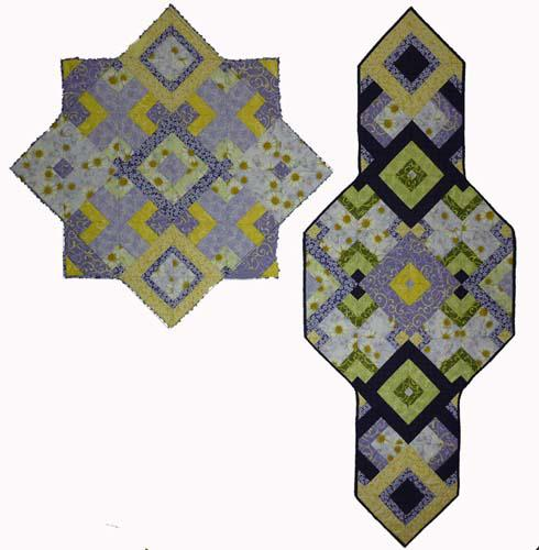 Twofer - Pattern for Two Quilts (Table Runners or Wall Quilts)