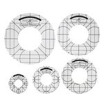 GM Amanda Murphy Low Shank Set of 5 Circles