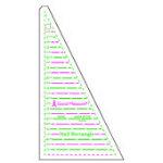 Good Measure Half Rectangle Ruler