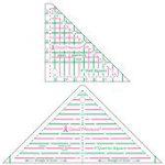 Good Measure 4 Half & Quarter Square Triangle 2pc
