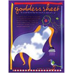 Goddess Sheet 10.75in x 16.5in