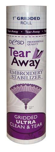 oesd - Tear Away - Grided Ultra Clean &Tear 10x10yd