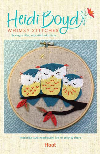 Whimsy Stitches Hoot