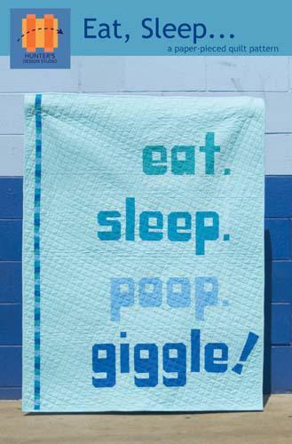 Eat, sleep ... - pattern