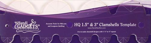 HQ Ruler Clamshell (1.5 x 3)