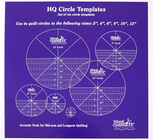 Circles Ruler Set