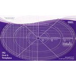 Oval Ruler A 4in 8in & 12in