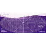 HQ Oval C Ruler Set (2)