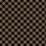 Twilight Lake Diagonal Check Brown Black