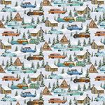 Cars, Campers and Cabins - Snowy Woods