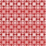 Holiday Heartland Small Monotone Quilt Red