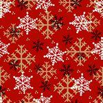 Timber Gnomies Snowflake Red