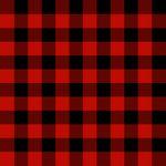 Buffalo Check Red Black - Timber Gnomies