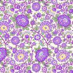 Nana Mae V -  Lavender Medium Floral