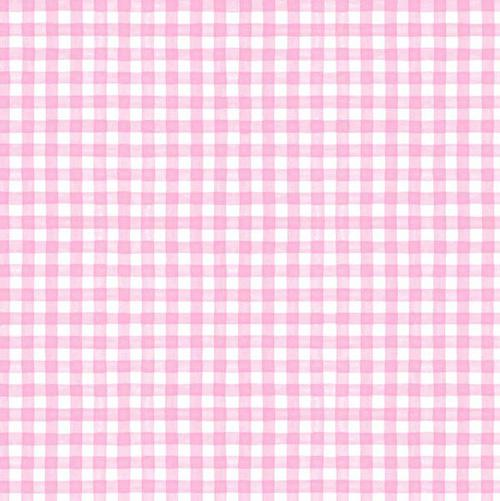 Pink Gingham 1/4 inch