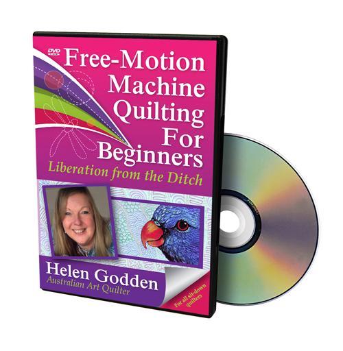 Free Motion Mach Quilt DVD
