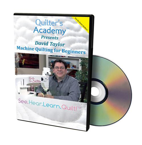 DVD Quilter's Academy Longarm Basics using rulers & templates